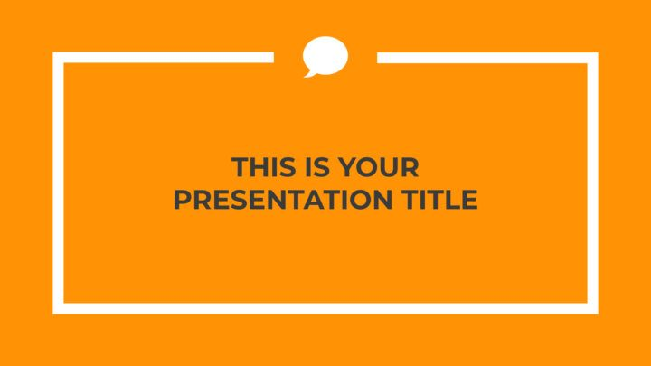 Orange Professional. Free PowerPoint Template & Google Slides Theme