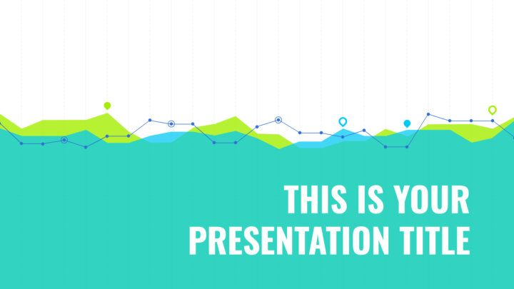 Free business Powerpoint template or Google Slides theme with graphs design