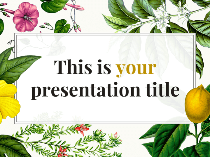 free original powerpoint template or google slides theme with