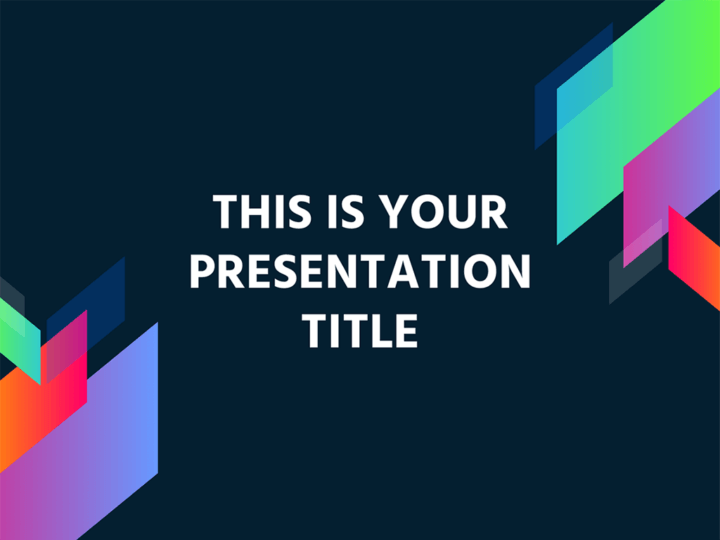 Free modern and colorful powerpoint template or google slides theme maxwellsz