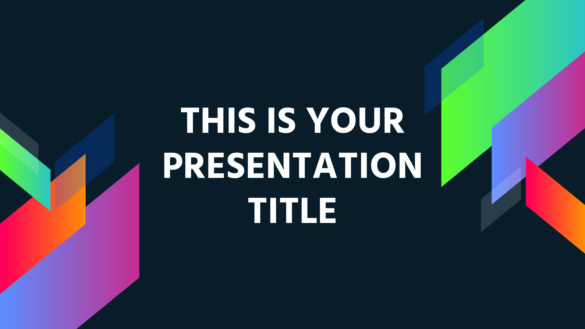 Free Modern And Colorful Powerpoint Template Or Google Slides Theme - Best google slides themes