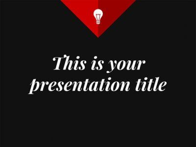 Free elegant and corporate presentation - Powerpoint template or Google Slides theme