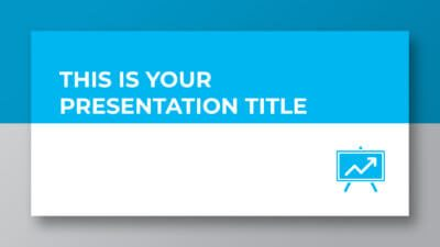 Free professional and corporate presentation - Powerpoint template or Google Slides theme