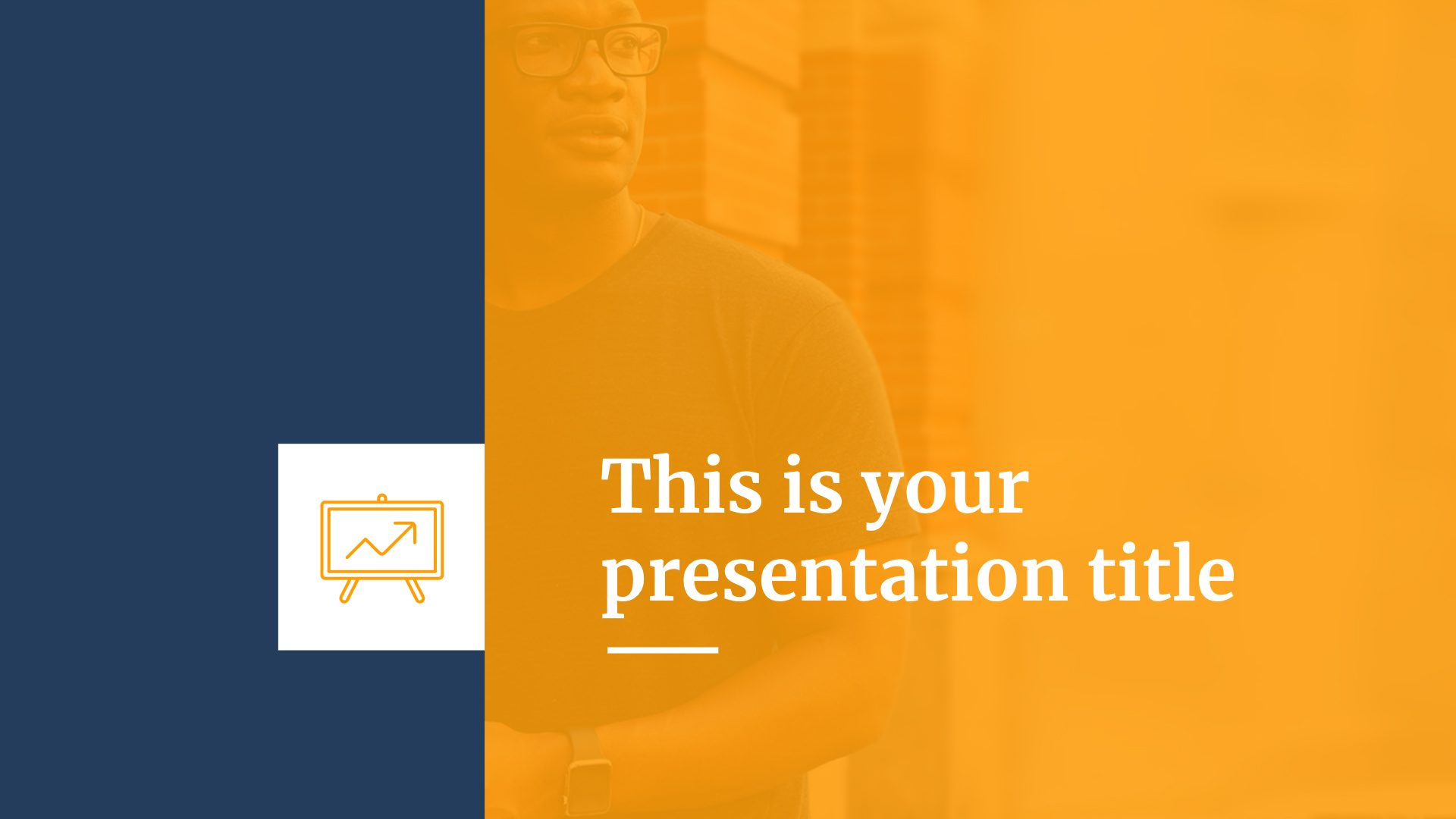 Free professional presentation for startups - Powerpoint template or Google Slides theme