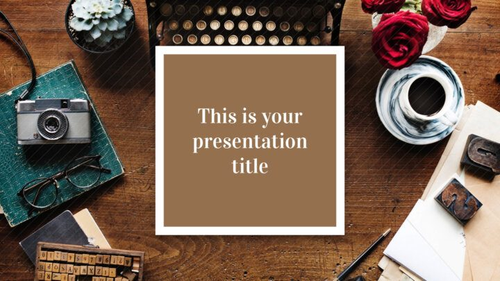 Brown Stylish. Free PowerPoint Template & Google Slides Theme