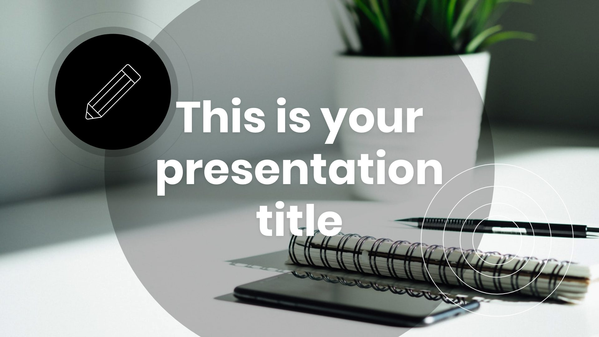 Cool Circles Free Powerpoint Template Google Slides Theme
