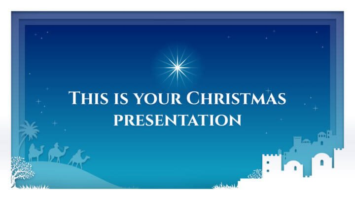 Free Christmas Powerpoint Template Google Slides Theme