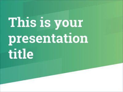 Free Powerpoint template or Google Slides theme with professional dynamic design