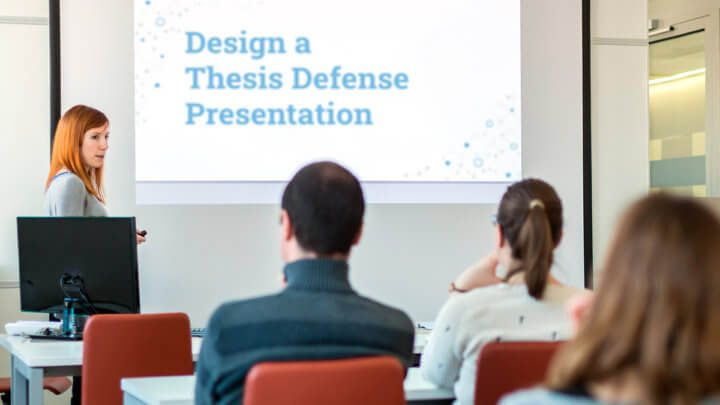 How To Create A Thesis Defense Presentation To Impress