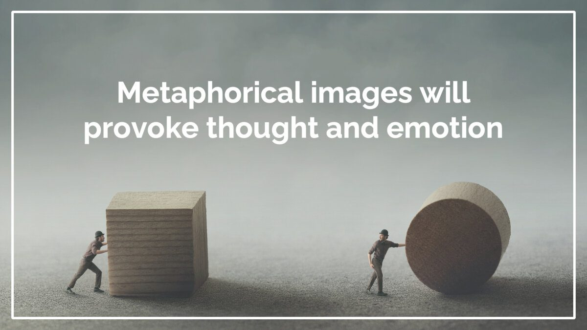 Use Visual Communication To Elevate Your Presentations - Use visual metaphors