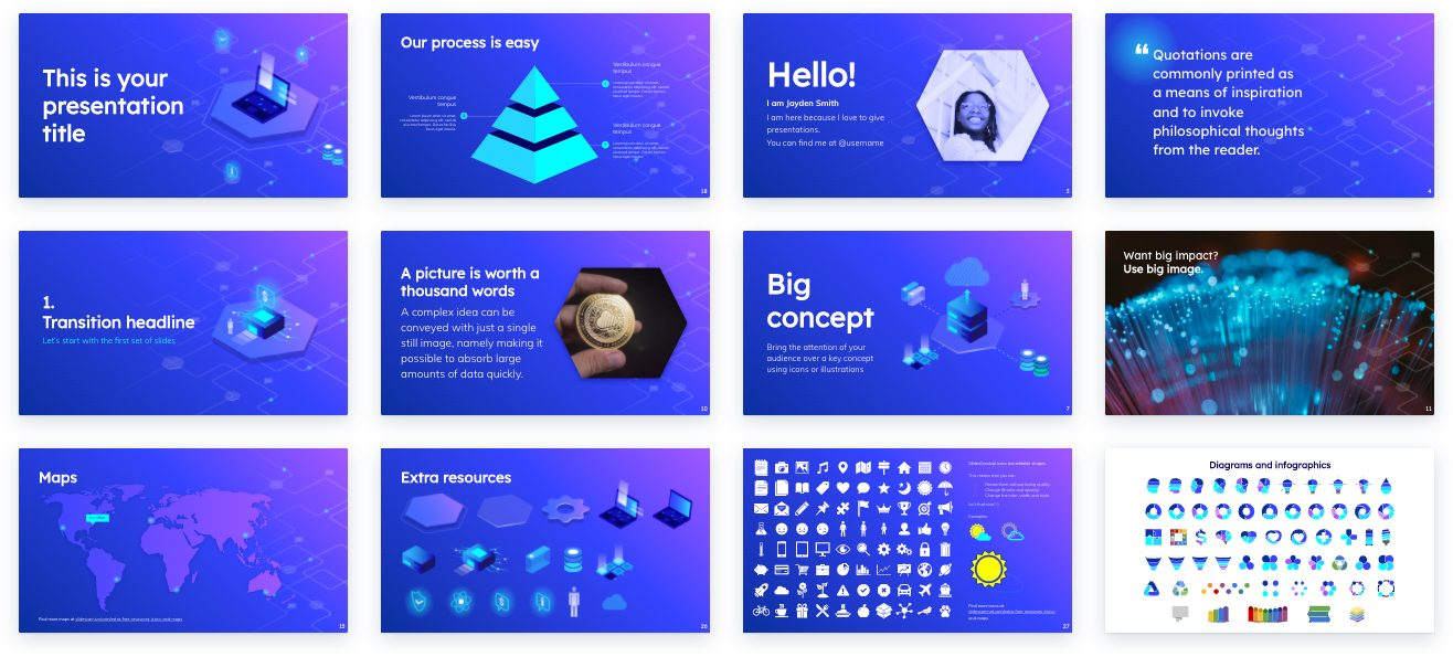 Reasons to Start Using Presentation Templates: Make your content more visual