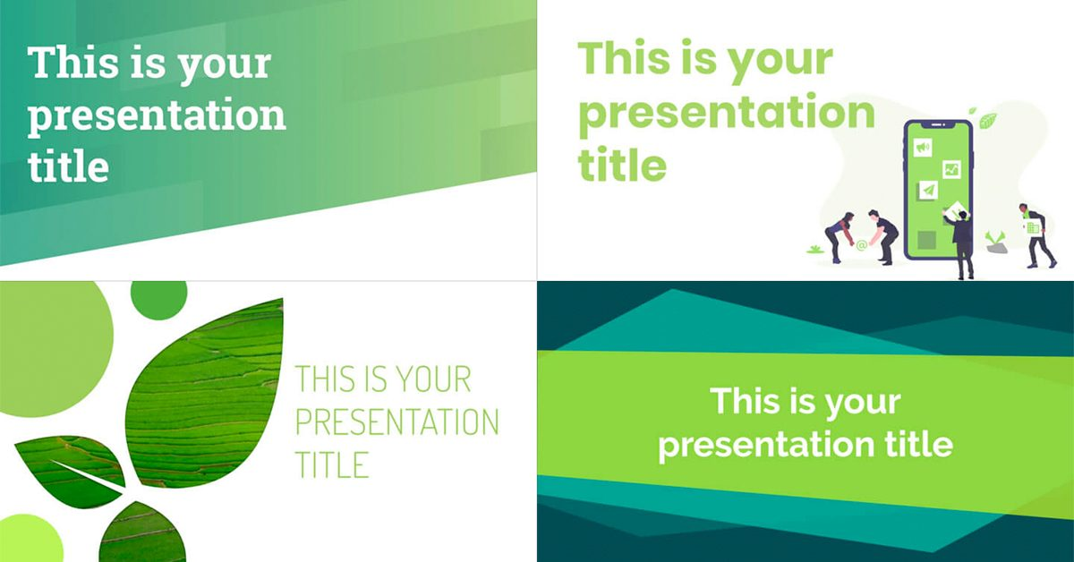 Free Green Powerpoint Templates And Google Slides Themes