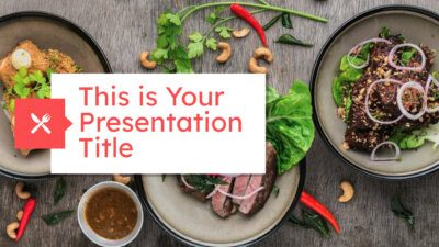 Food PowerPoint templates and Google Slides themes