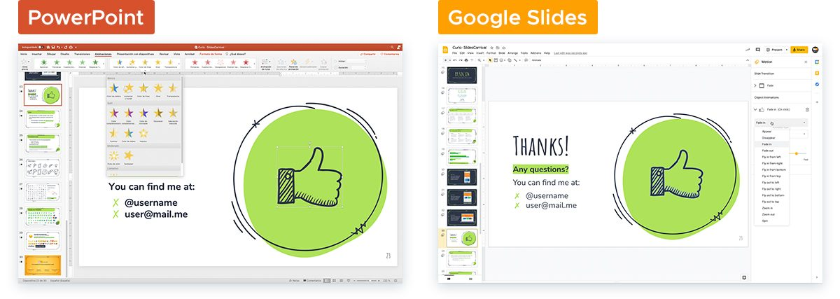 How To Turn A 'Boring' PowerPoint Into An Engaging Presentation - Use animations